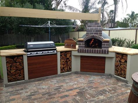 outdoor kitchen ideas australia best 25 outdoor pizza ovens ideas on pinterest