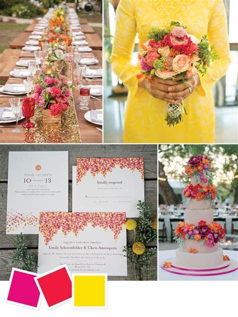 Backyard Wedding Colors 15 Wedding Color Combos You Ve Never Seen