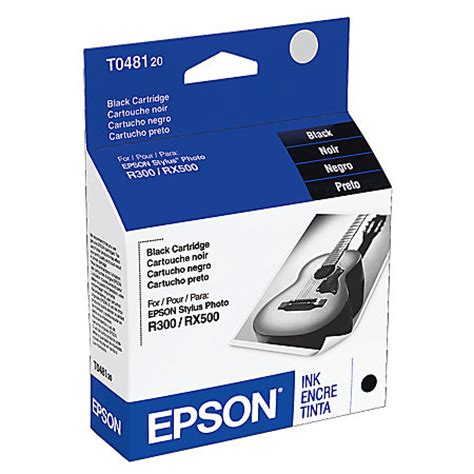 Office Depot Coupons Epson Ink Epson T0481 T048120 Black Ink Cartridge By Office Depot