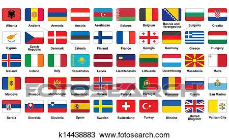 clipart bandiere clipart bandiere europee icone k14438883 cerca