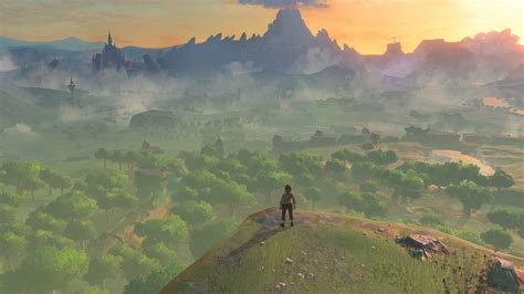 breath of the the legend of breath of the is big really really big kotaku uk