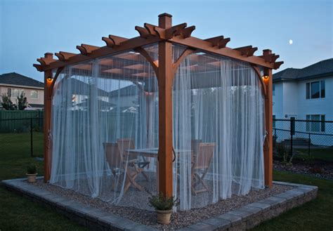 pergola with curtains 17 engrossing ideas to make your yard more enjoyable with