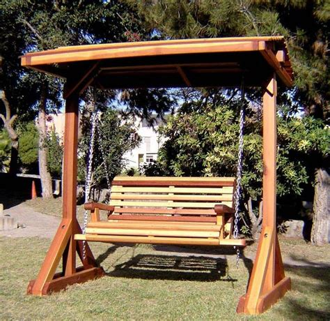 free standing bench swing 20 awesome pergola swing set plans images projects to