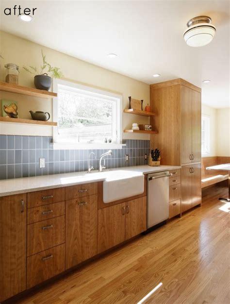 design sponge kitchen before after wood filled kitchen redo design sponge