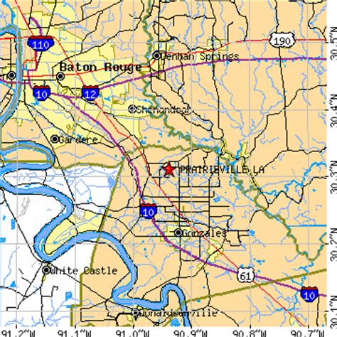louisiana map gonzales gonzales la pictures posters news and on your