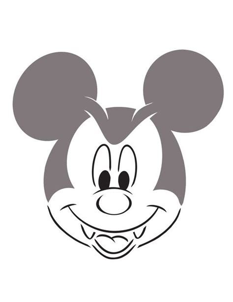 mickey mouse vire pumpkin template mickey disney free pumpkin carving