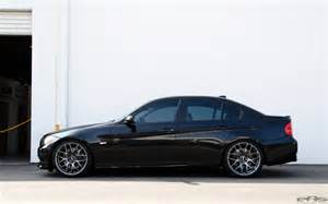 Bmw E90 Wheels Jet Black Bmw E90 335i Looks Clean With Aftermarket Wheels