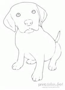 labrador coloring pages puppy coloring page print color