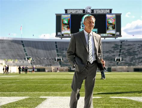 michigan state coach michigan state football coach dantonio still the