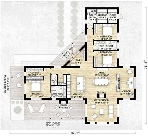 image detail for modern house plan 2800 sq ft kerala home design architecture home contemporary style house plan 3 beds 2 5 baths 2180 sq