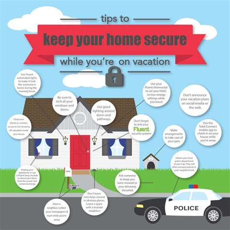 essential tips for home security while on vacation