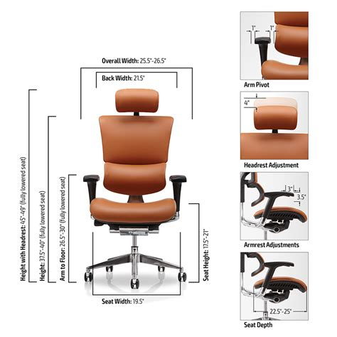 Office Chair Measurements by Desk Footrest 21st Century Task Seating