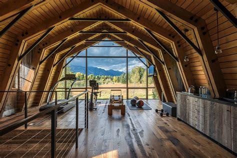Barn Garage Designs rustic meets modern in stunning barn guest house in wyoming