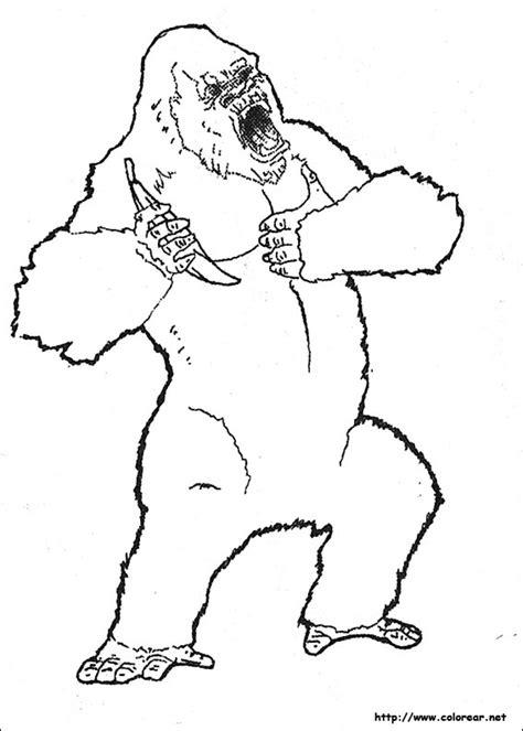 dibujos para colorear im genes para colorear clipart dibujos para colorear de king kong