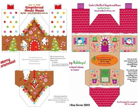 printable christmas cards activity village christmas printables for kids christmas houses