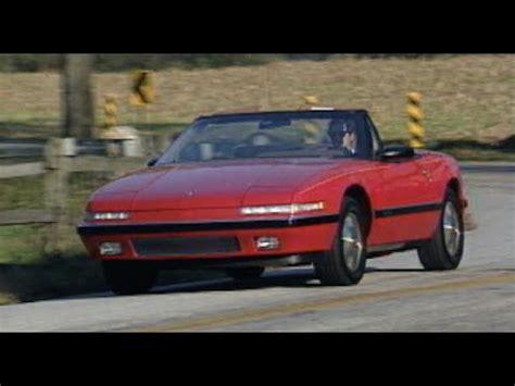 1990 buick reatta reviews motorweek retro review 1990 buick reatta convertible