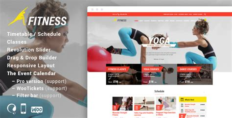 themeforest fitness gym fit theme for fitness gym and fitness centers by