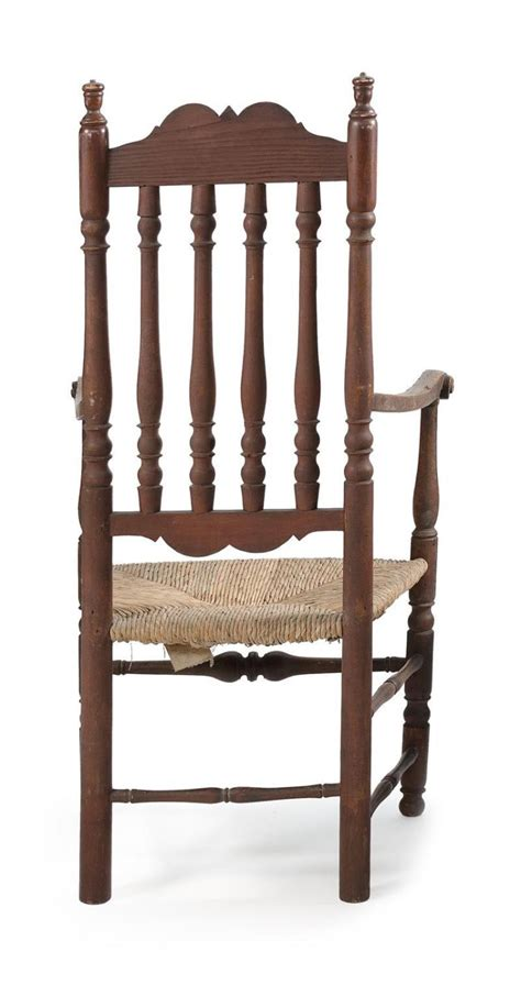 antique banister antique american banister back armchair in maple and ash wit