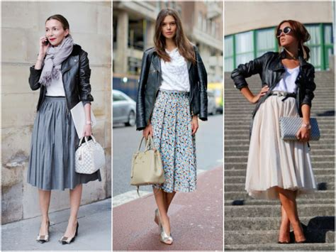 how to wear a midi skirt practically fashion