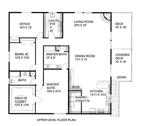 2 Bedroom Condo Floor Plans by Garage Plan 86554 At Familyhomeplans Com