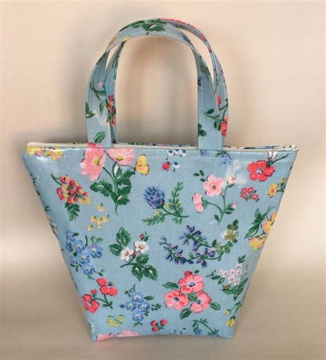 Handmade Oilcloth Bags - handmade cath kidston meadow oilcloth by