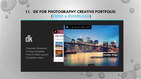 Camilla V2 2 2 Horizontal Fullscreen Photography Theme 20 best creative photography template