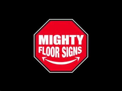 Mighty Line Floor by New Mighty Line Floor Signs Mighty Line Safety