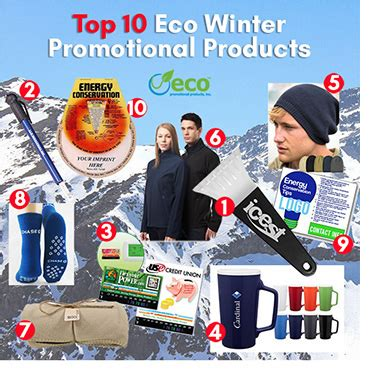 Winter Promotional Giveaways - top 10 promotional products for winter eco promotional products environmentally and