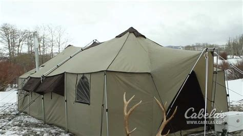 cabela s boat grill cabela s alaknak is more mansion than tent video the