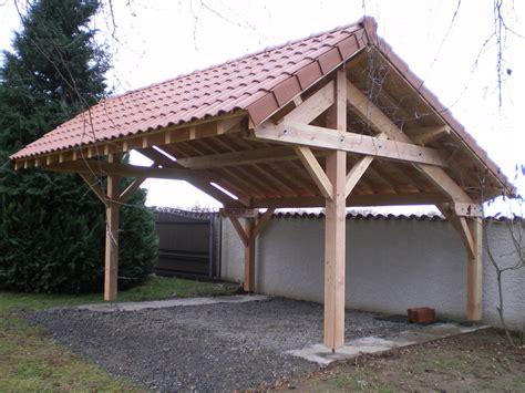 Construire Un Abris Pour Le Bois 4634 by Carport Bois Une Pente