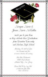 graduation invitation templates free word wording for graduation invitations template best