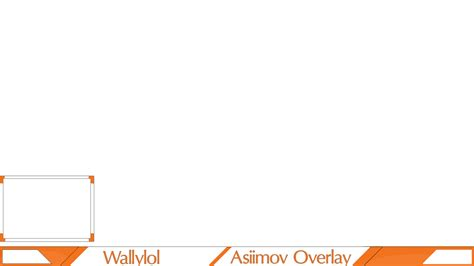 twitch overlay template twitch csgo asiimov overlay template2k15 by wallylol on