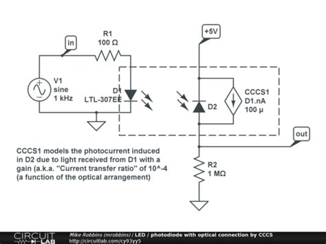 photodiode optoelectronics circuitlab