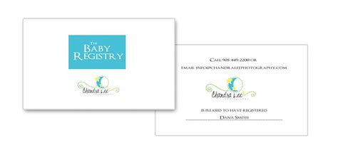 Baby Gift Registry Cards - baby shower gift registry 187 newborn maternity photography by photographer chandra lee