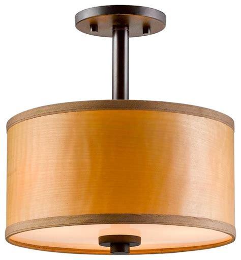 mid century semi flush mount lighting veneer semi flush ceiling mount midcentury flush mount
