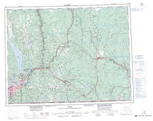 topo maps canada free printable topographic map of 092h bc