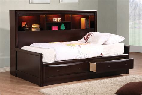 daybed with bookcase headboard cordial full size daybed design for living room additional