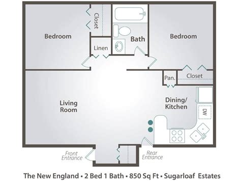 2 bedroom one bath apartment floor plans 2 bedroom 2 bath apartment floor plans bedroom at real