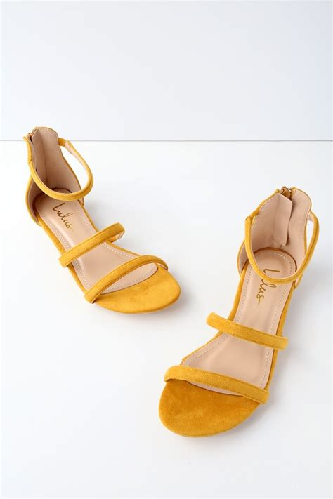 mustard colored flats mustard sandals flat sandals vegan suede sandals