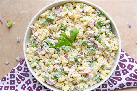 recipe for cold tuna macaroni salad tuna mac salad food network