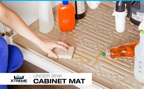 xtreme mats under sink kitchen cabinet mat reviews wayfair amazon com xtreme mats under sink kitchen cabinet mat
