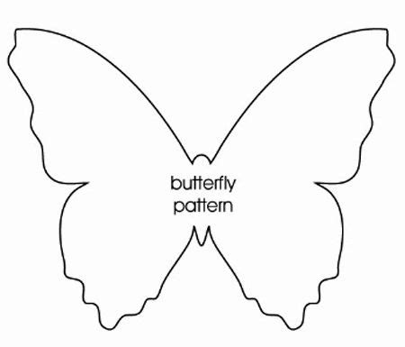 How To Make A 3d Butterfly Out Of Paper - best 25 butterfly template ideas on felt