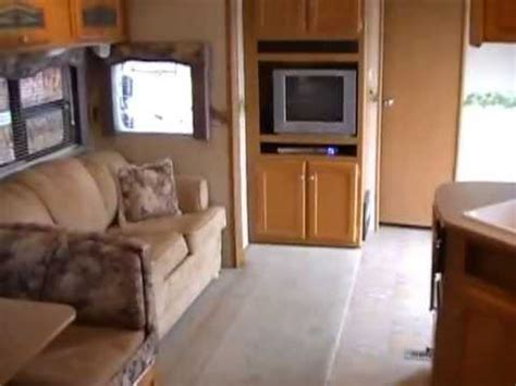 Park Model Travel Trailer Floor Plans by 2006 Dutchmen 38b Self Contained Park Model 15 900 Youtube