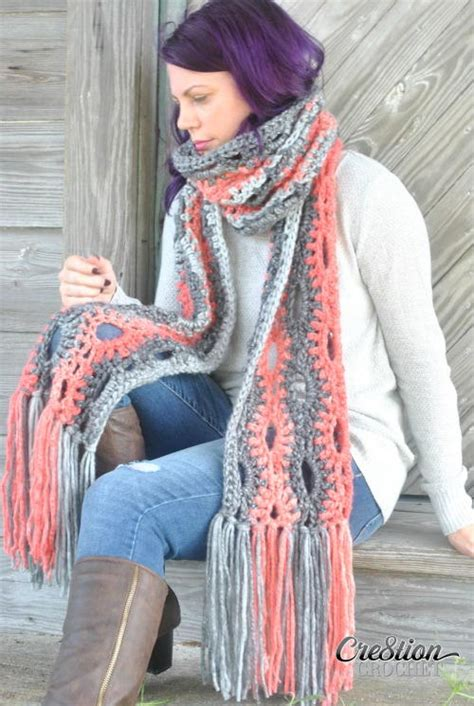 super crochet scarf favecraftscom