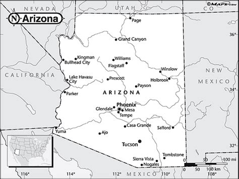 arizona map coloring page free coloring pages of arizona outline map