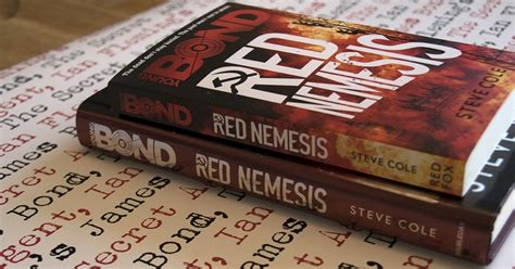 young bond red nemesis 0857535439 james bond the secret agent a very rare copy of young bond red nemesis indeed