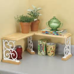 Kitchen Corner Shelves Ideas by Kitchen Counter Corner Shelf Kitchen Ideas