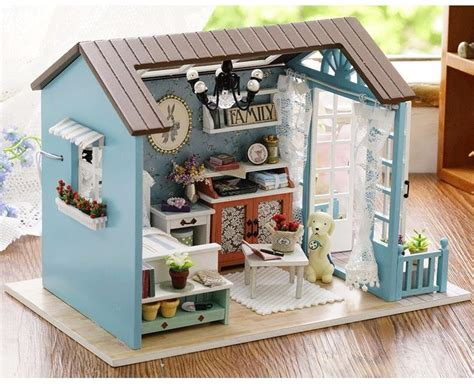 Handmade Wooden Doll Houses - handmade doll house furniture miniatura diy doll houses