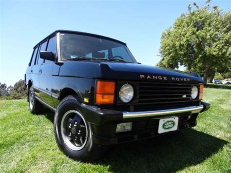 electronic stability control 1993 land rover range rover classic spare parts catalogs buy used 1993 land rover range rover county lwb sport utility 4 door 4 2l in san diego
