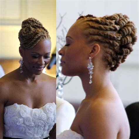 Wedding Hairstyles For Locs by 17 Best Images About Locs Of On Black